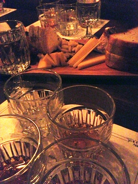 American Whiskies and Cheeses - Photo by Jen Laskey